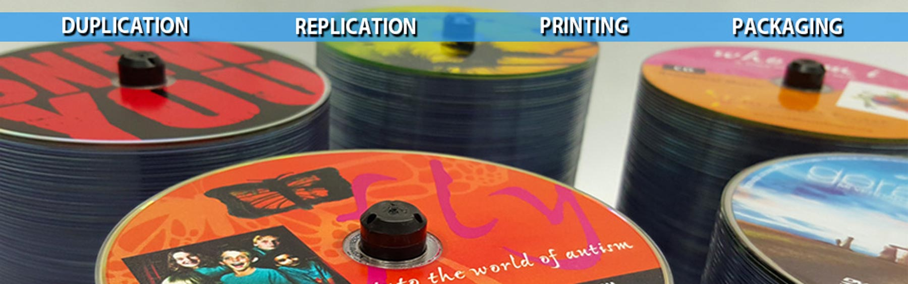 CD/DVD Duplication, Replication, Printing and Packaging