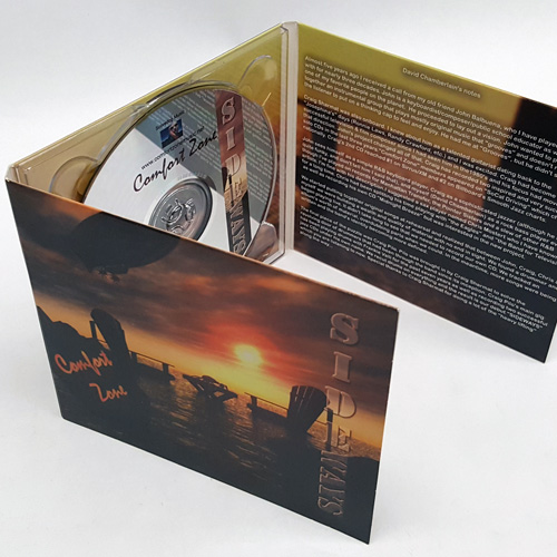 CD digipak 6 panel