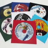 CD duplication printing in Paper sleeve