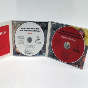 Digipak 6 panel dual disc