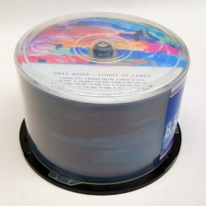 CD-R Printing in bulk no duplication on spindle