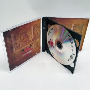 CD dual disc packaging