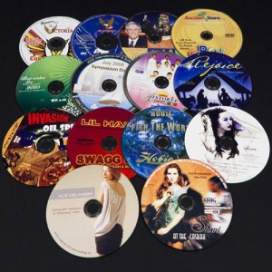 DVD replication and printing