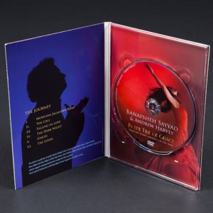 DVD 4 panel slim digipak