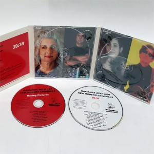 CD DVD Digipak 6 panel