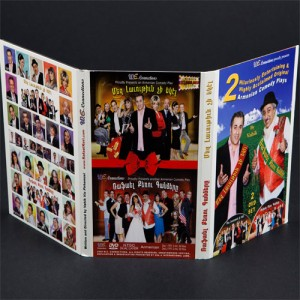 DVD 6 panel digipak retail ready