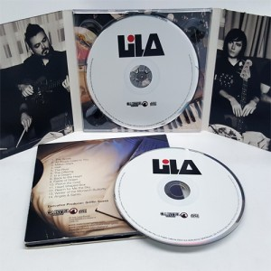 CD Digipak 6 panel with booklet