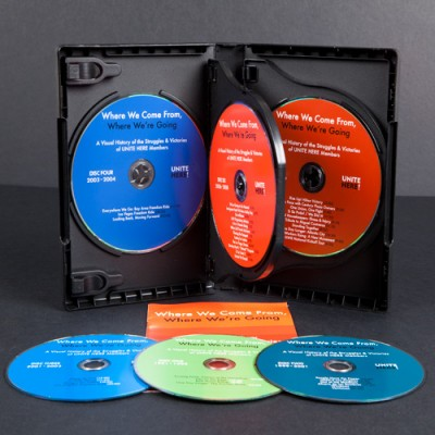 DVD multi disc