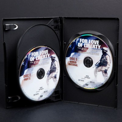 DVD multi disc retail ready